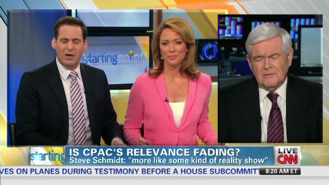 Gingrich: CPAC a great venue for ideas