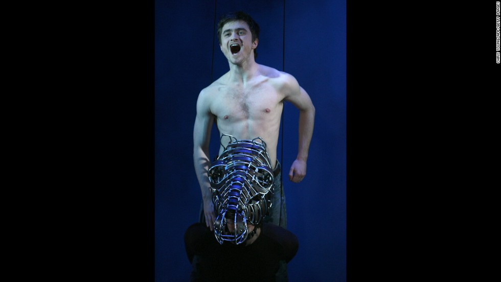 "Daniel Radcliffe distanced himself from ""Harry Potter"" when he starred as Alan Strang in the 2007 revival of ""Equus."" Radcliffe, who appeared in a nude scene onstage, received positive reviews for his grown-up performance."