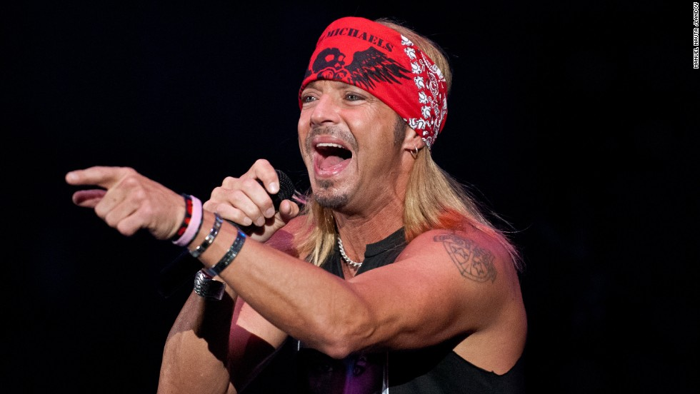 In celebration of Bret Michaels turning 50 on Friday, March 15, here's a look at how the former Poison lead man is staying busy as a musician and reality TV personality. Here, Michaels performs at the Austin Stock Show and Rodeo in March 2012.