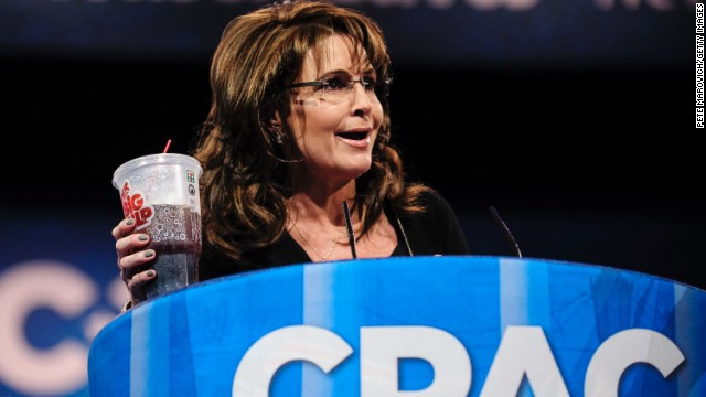 Palin: Bloomberg not here, Big Gulp safe