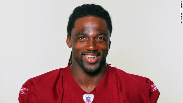 ASHBURN, VA - CIRCA 2011: In this handout image provided by the NFL, Donte Stallworth of the Washington Redskins poses for his NFL headshot circa 2011 in Ashburn, Virginia. (Photo by NFL via Getty Images)