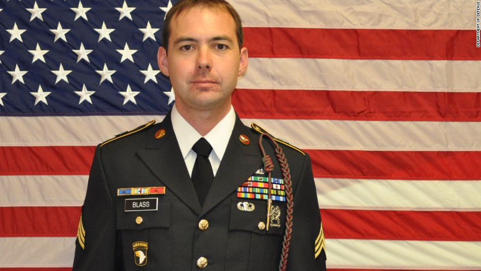 The Defense Department identified the five U.S. service members who died in a helicopter crash in Southern Afghanistan on Monday, March 11.<br /><br />Staff Sgt. Steven P. Blass, 27, of Estherville, Iowa.