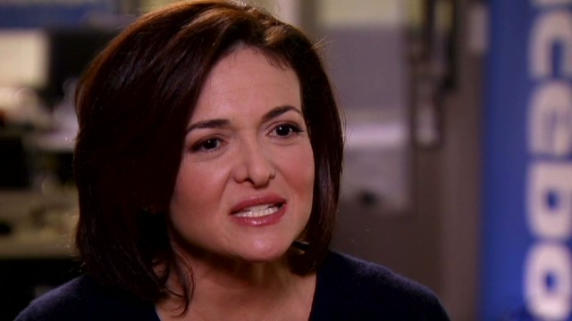 Sandberg: Upside for men in 'Lean In'
