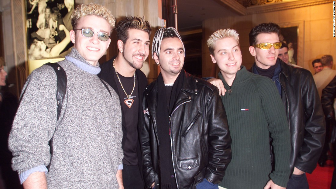 Timberlake graduated from the Mickey Mouse Club, and in 1998 he began singing with the new boy band 'N Sync. Over the next five years, the group would sell 42 million records worldwide, according to their website.