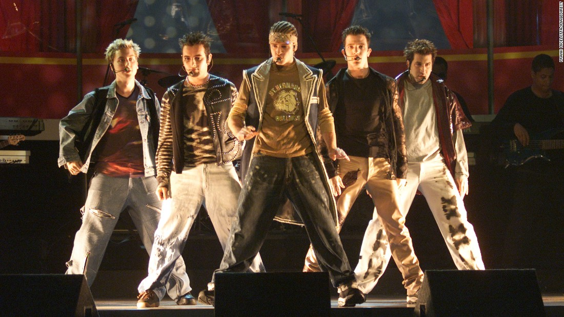 "The band 'N Sync performs at the 2000 MTV Movie Awards. ""No Strings Attached"" finished as the best-selling album of 2000. The song ""Bye Bye Bye"" was nominated for Song of the Year at the Grammy Awards."