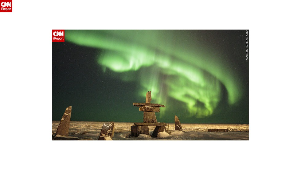 "2013 has proved a bumper year for sightings of the northern lights, due to a peak in the 11-year solar cycle. In this image taken earlier this month by Jim Halfpenny in Churchill, Manitoba, Canada, they appear to <a href=""http://ireport.cnn.com/docs/DOC-943161"">float above some stones</a>."
