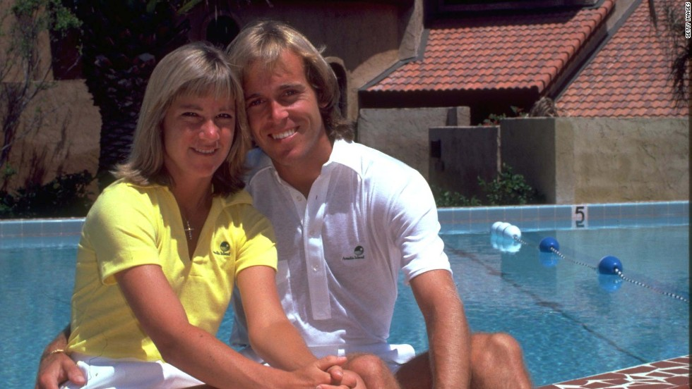 Five years after breaking off her engagement to Connors, Chris Evert did finally marry a tennis player - John Lloyd of Great Britain, in 1979. The relationship did not last, with the couple divorcing in 1987.
