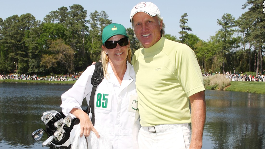 Golfer Greg Norman and tennis pro Chris Evert tied the know in 2008 but the marriage lasted only 15 months, ending in 2009. Between them, they won 20 major titles -- with Norman winning two.