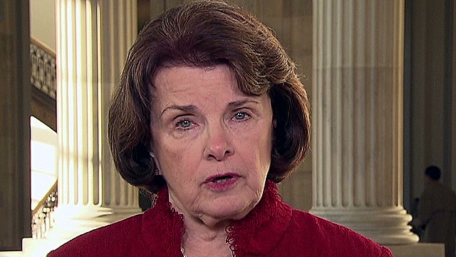 Feinstein: I'm not going to play dead