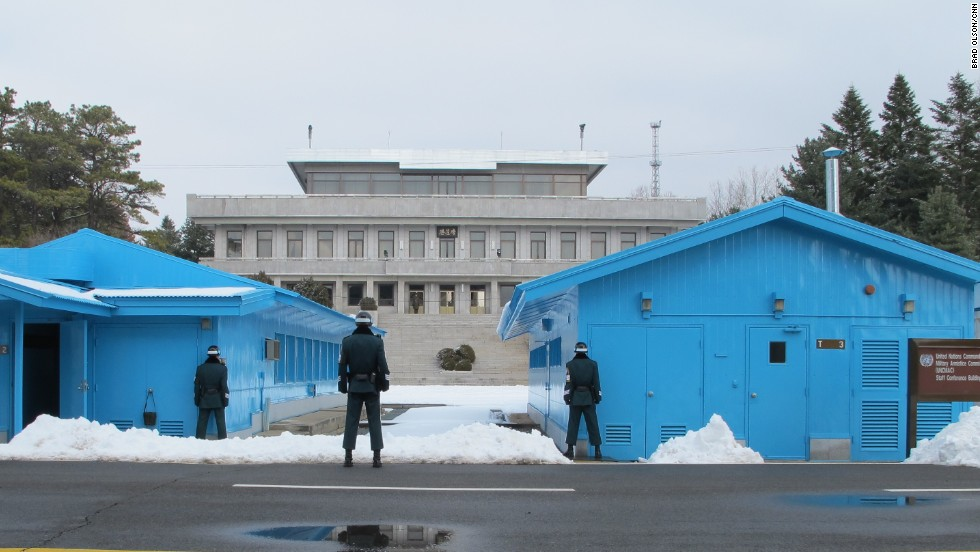 When the two Koreas meet for talks, they do so in the Joint Security Area (JSA) in Panmunjun, an abandoned village that straddles the DMZ.