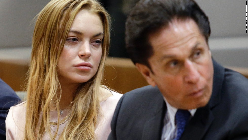 "Repeat offender Lindsay Lohan appeared in court several times in 2013, including this time pictured in March, but in May the troubled actress <a href=""http://www.cnn.com/2013/05/05/showbiz/lindsay-lohan-rehab/"">entered rehab</a> and it actually seems to be working."