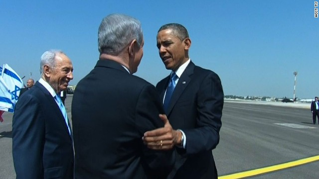 Obama in Israel for historic visit