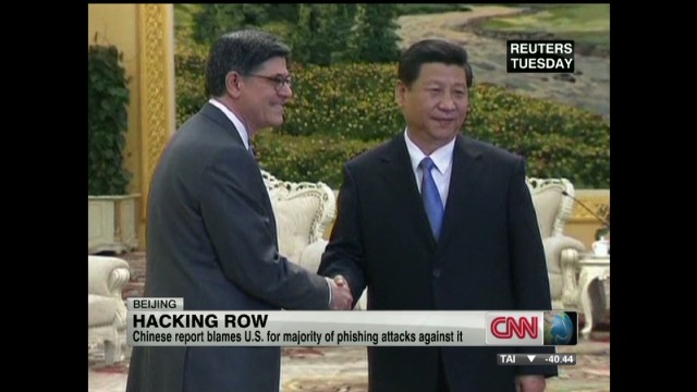 Cybersecurity concerns for China, U.S.