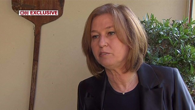 Livni: Chemical weapons used in Syria