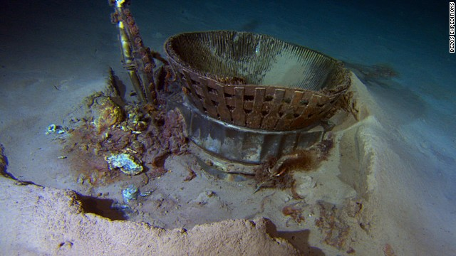 Apollo rockets recovered from ocean