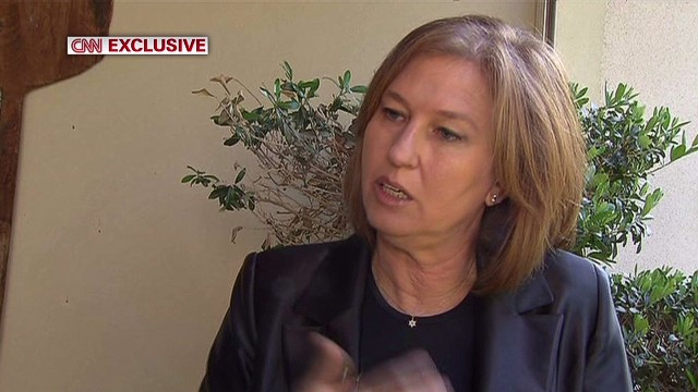 Livni: Peace in Israel's best interest