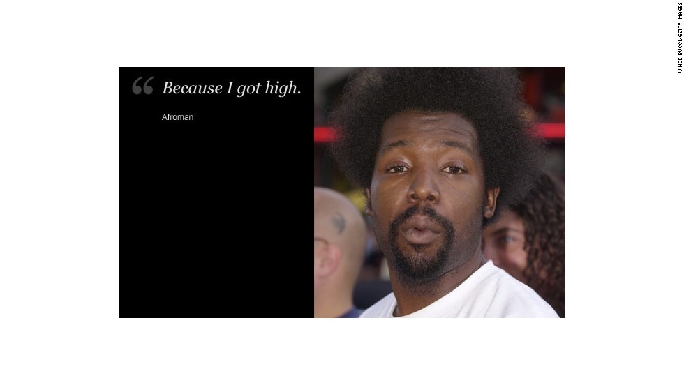 rappers afroman