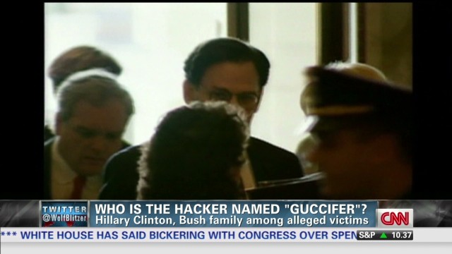 Hacker 'Guccifer' targets Hillary Clinton