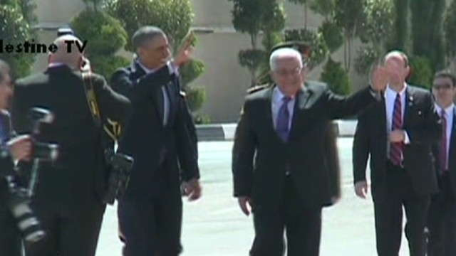 President Obama in the West Bank