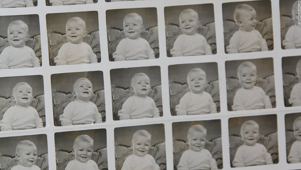 David Bowie, pictured here as a 10-month old baby, was born David Robert Jones in Brixton, south London in 1947. He moved to Bromley in 1953, where he attended school and met rock guitarist Peter Frampton.
