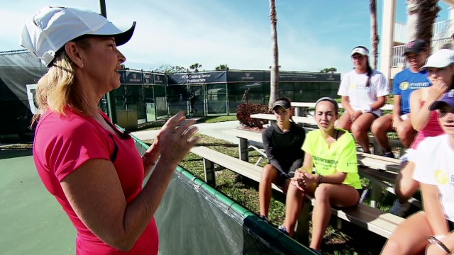 Chris Evert: Grooming future champions