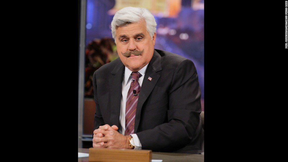 "Jay Leno -- here in May -- began hosting ""The Tonight Show"" in 1992. In 2009, he launched ""The Jay Leno Show,"" but after seven months and poor ratings, he resumed his post on ""The Tonight Show"" in 2010."