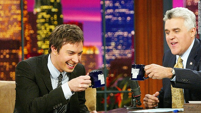 Late night war rages with Fallon, Leno