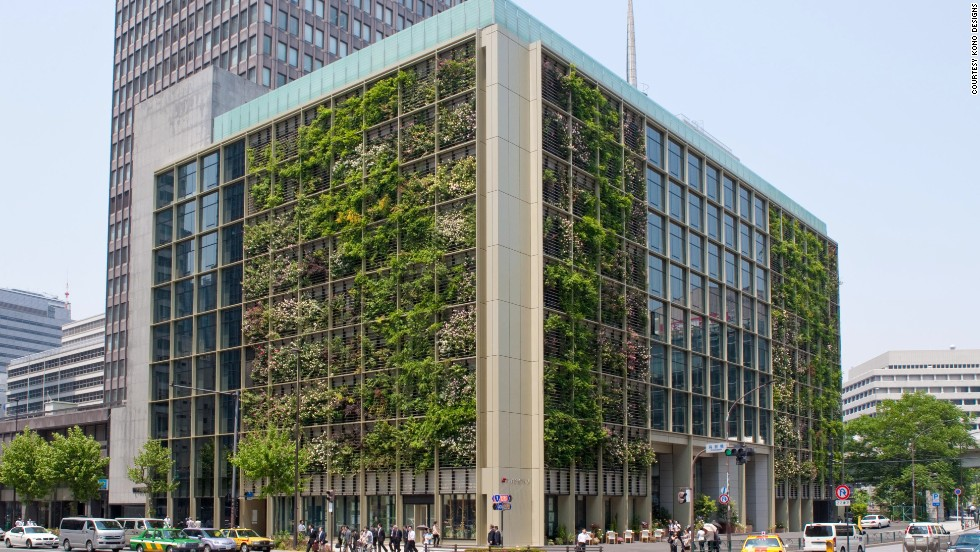 "Here's something you don't see every day: An office building with fruits and vegetables growing from its windows. It's called vertical farming and proponents say it has the potential to bring more fresh food into urban areas.  The Tokyo headquarters of Japanese staffing agency Pasona uses the concept to save energy and grow food for their employees in what design blog Inhabit has called <a href=""http://inhabitat.com/pasona-hq-is-an-urban-farm-that-grows-food-for-its-employees-in-tokyo/pasona-hq-kono-designs-1/"" target=""_blank"">the first ""farm-to-desk"" initiative of its kind</a>. Innovating urban food production is directly rooted in the trend of sustainability, but what would it take for your company to go green like this?"