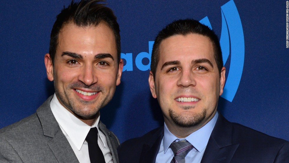 "<a href=""http://www.cnn.com/2013/03/21/us/scotus-same-sex-prop-8/"">Paul Katami, left, and Jeff Zarrillo</a> of Burbank, California, are plaintiffs in the monumental fight that tests the generations-old concept of marriage. There are an estimated 120,000 legally married same-sex couples in the United States."