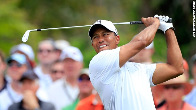 Tiger Woods will go into Sunday's final round of the Arnold Palmer Invitational with a two-shot lead.
