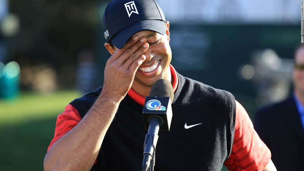 "In December 2011, Woods earned his first win in two years at the <a href=""http://www.cnn.com/2011/12/04/sport/golf/california-tiger-woods/index.html"">Chevron World Challenge</a>, a charity tournament that he hosts which does not count on the PGA Tour money list."