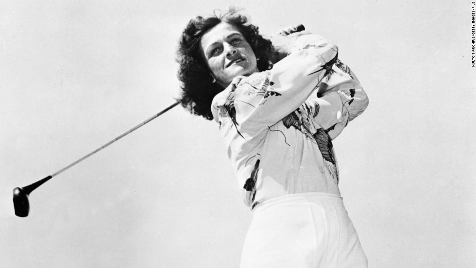 Babe Didrikson Zaharias is the most successful athlete to have taken up golf after other sporting careers. She was a double Olympic gold medalist in track and field in 1932 and also played softball and basketball before becoming one of the most famous golfers in the world. Didrikson won her 10th and final major a month after cancer surgery and was still a leading player when she died aged just 45.