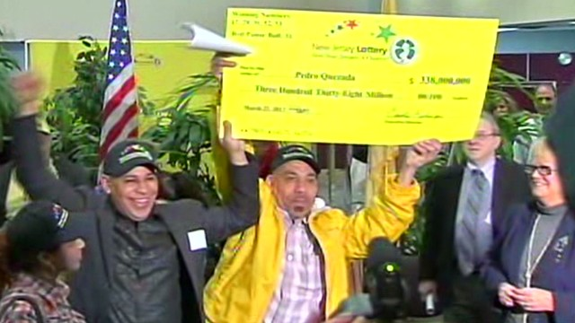 Powerball winner promises to help others