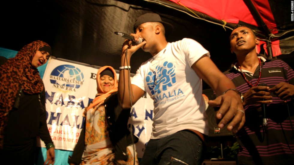 Waayaha Cusub is a hip-hop group famous for its lyrics attacking Somali warlords. The collective has embarked on a major tour aimed at promoting peace and rallying youth to resist extremism.