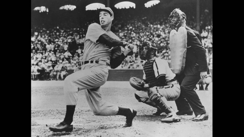 Joe DiMaggio's magical 56-game hit streak in 1941 still stands and helped cement him as a legend in not only baseball, but American lore.
