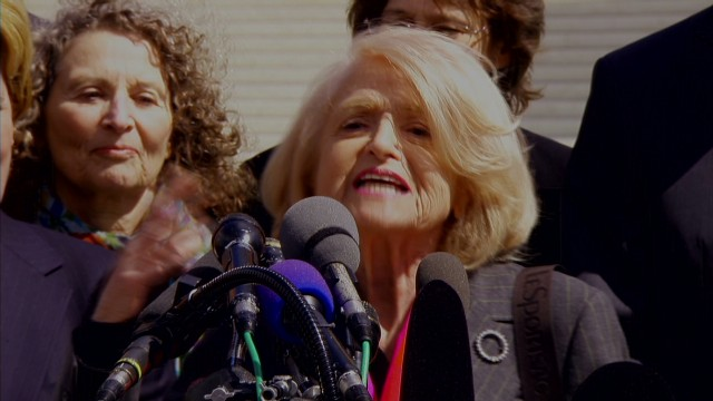 Edith Windsor: Marriage 'is magic'