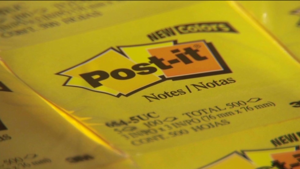 The 'hallelujah moment' behind the invention of the Post-it note