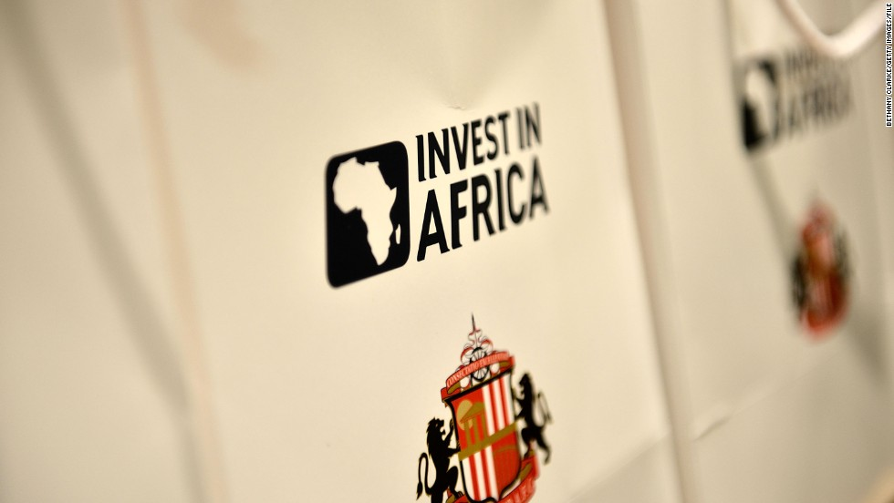Sunderland signed a two-year partnership agreement with Invest in Africa in June 2012, which has seen the not-for-profit organization's logo displayed on the club's shirts. Tullow Oil is the founding partner in the initiative which seeks to promote investment in Africa while at the same time opening up a new market to the Premier League team.
