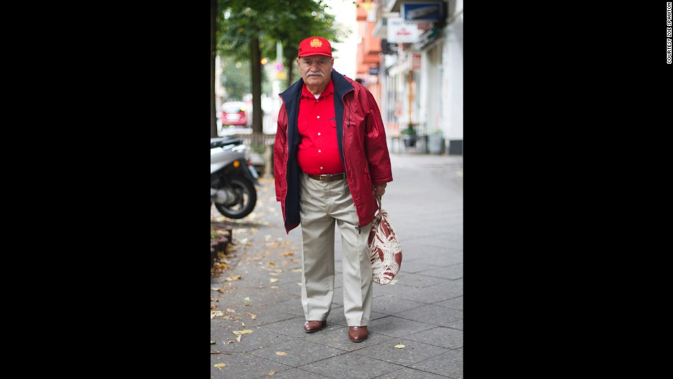 A language barrier prevents Spawton, who is Australian and the Turkish-born German Ali from carrying on in-depth conversations. But she says he has told her he is a former doctor now working as a tailor who has lived in Berlin for 44 years.