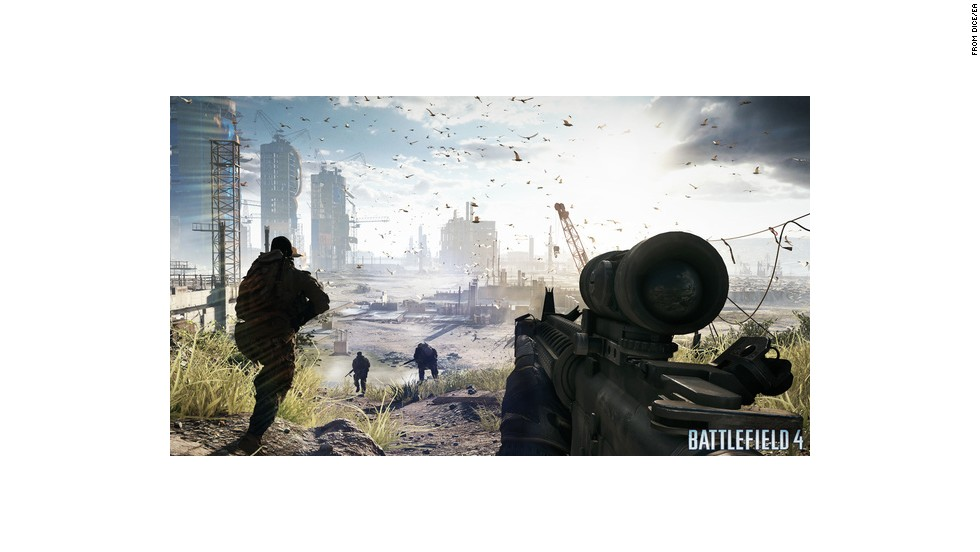 This shooter game's action will send a U.S. squad of soldiers to photorealistic locales such as Azerbaijan, Russia and China to battle a new global threat.