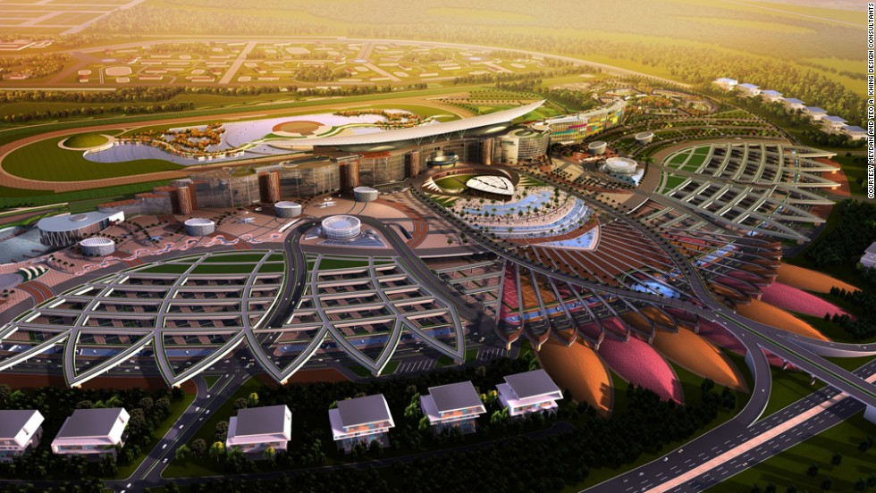 The Meydan's enormous car park can cater for 8,600 vehicles.