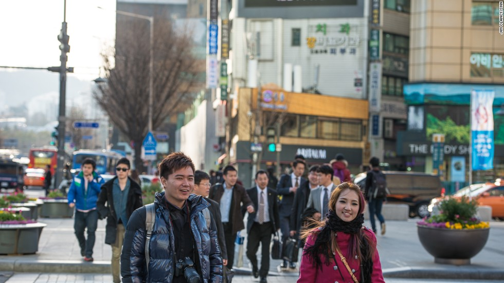 CNN's Jim Clancy found that life is going on as normal in Seoul, South Korea. He detected no fear or anxiety about the stream of threats emanating from North Korea. <br />