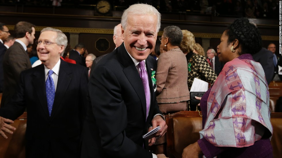 "On live television, Vice President Joe Biden was picked up on a microphone congratulating President Barack Obama on the 2010 passage of health care reform, saying: ""This is a big f---ing deal.""<br />"