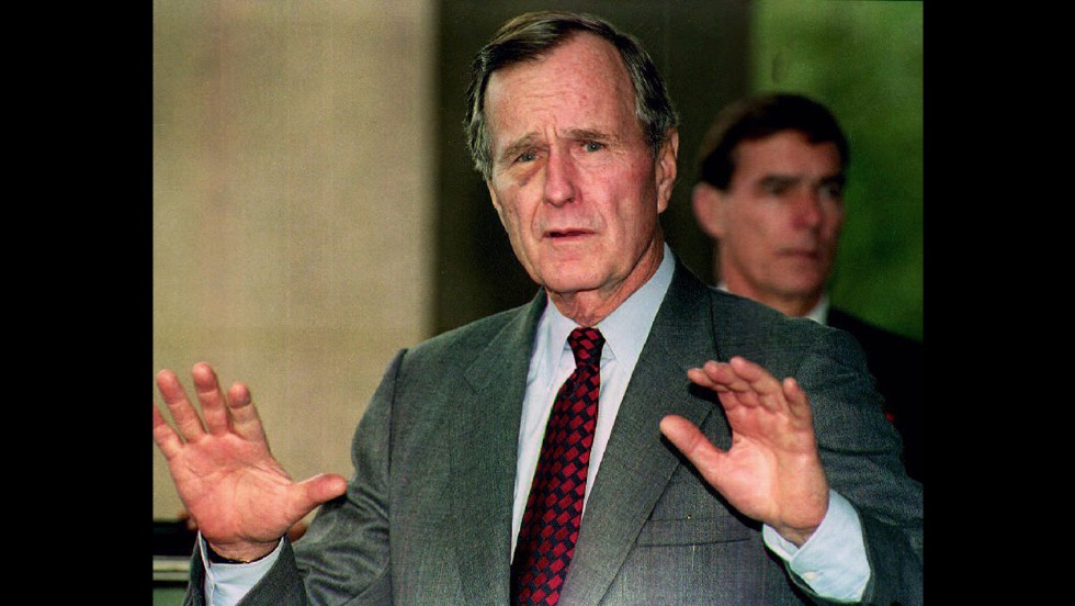 "As George H.W. Bush accepted the Republican nomination for president in 1988, he famously said, ""Read my lips, no new taxes."" <br />A little over a year into his presidency, Bush signed a congressional budget agreement that, indeed, raised income and other taxes."