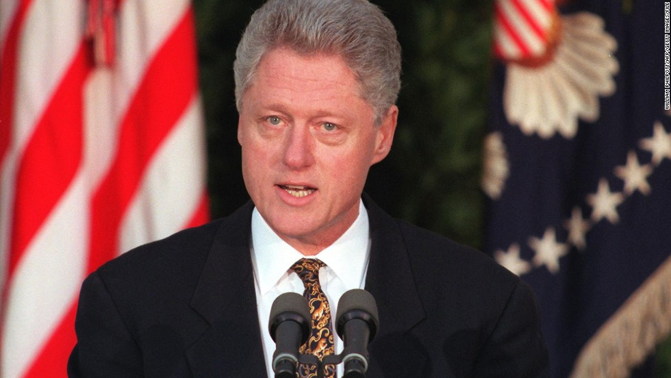 "During his impeachment trial, President Bill Clinton denied lying to staff about his affair with intern Monica Lewinsky by arguing that ""It depends on what the meaning of the word 'is' is."" <br /><br />While his parsing words were ridiculed, he was acquitted by the Senate in February 1999."