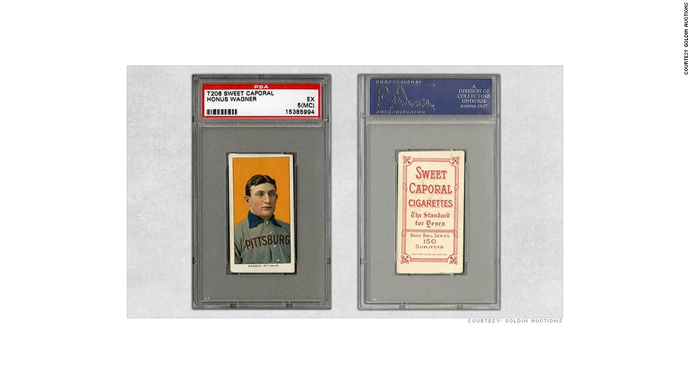 'Holy Grail' of baseball cards sold for $2.1 million