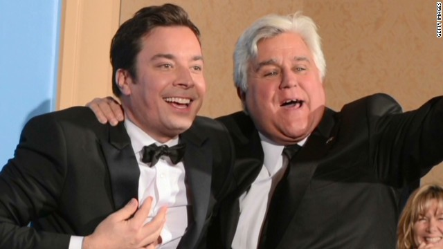 Leno praises Fallon, jabs at NBC