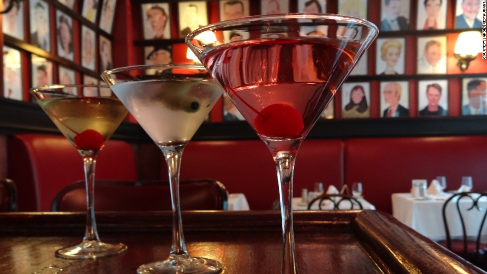 Sip a classic cocktail at Sardi's, a theater district standard that has served as a setting in the show.