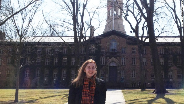 The author visited Princeton on April 1 to talk about her career in science journalism.