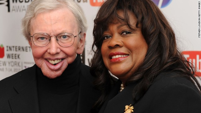 NEW YORK - JUNE 14:  Film critc Roger Ebert and wife Chaz Ebert attend the 14th Annual Webby Awards at Cipriani, Wall Street on June 14, 2010 in New York City.  (Photo by Stephen Lovekin/Getty Images) *** Local Caption *** Roger Ebert;Chaz Ebert